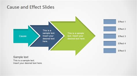 Cause Effect Powerpoint Template Slidemodel Cause And Effect Diagram Template Powerpoint