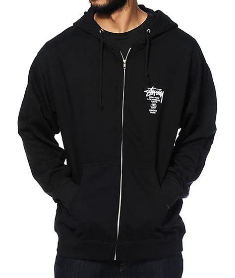 Jaket Sweater Hoodie Zipper Stussy Skate stussy world tour zip up hoodie at zumiez pdp