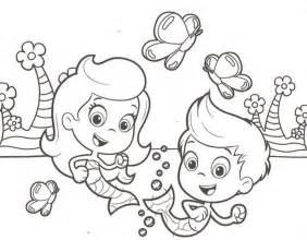bubble guppies pics az coloring pages