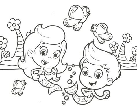 bubble guppies pictures az coloring pages