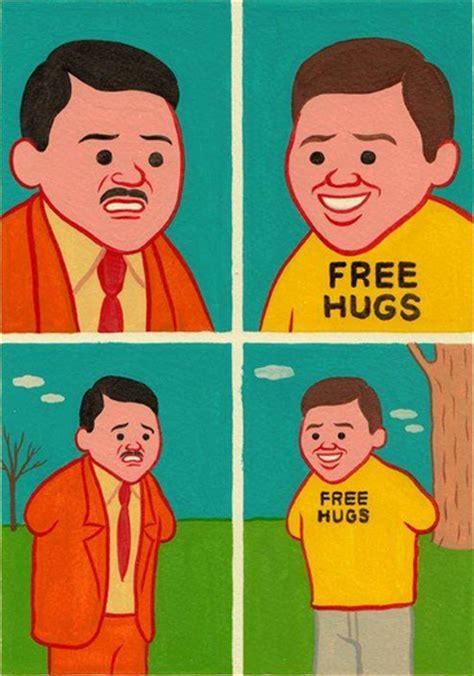 joan cornella free hugs joan cornell 224 comics absurdos