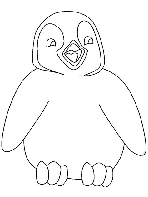 coloring page for penguin cartoon penguin coloring pages cartoon coloring pages