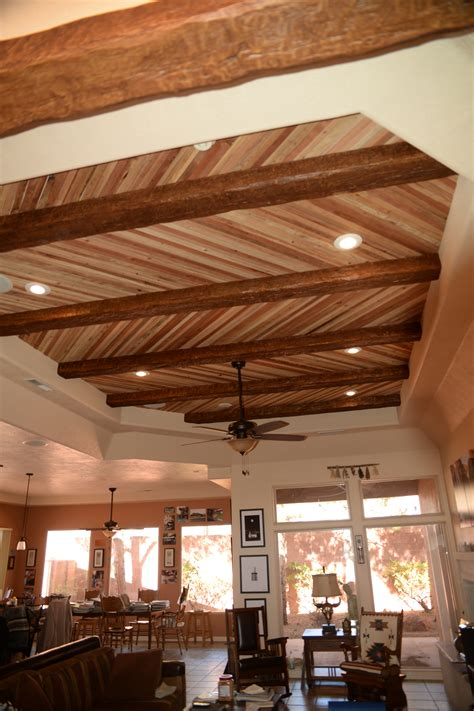 Faux Wood Ceiling by Ceiling Systems Faux Wood Workshop