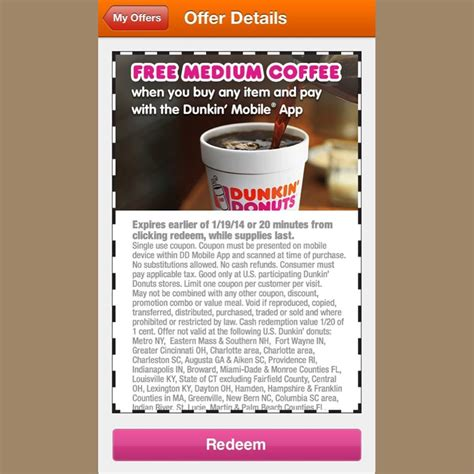 Coffee Dunkin Donut dunkin donuts free coffee newhairstylesformen2014
