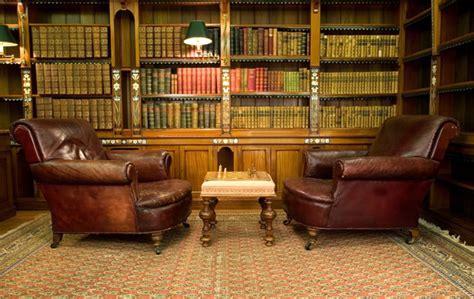 classic library wallpaper study room design ideas