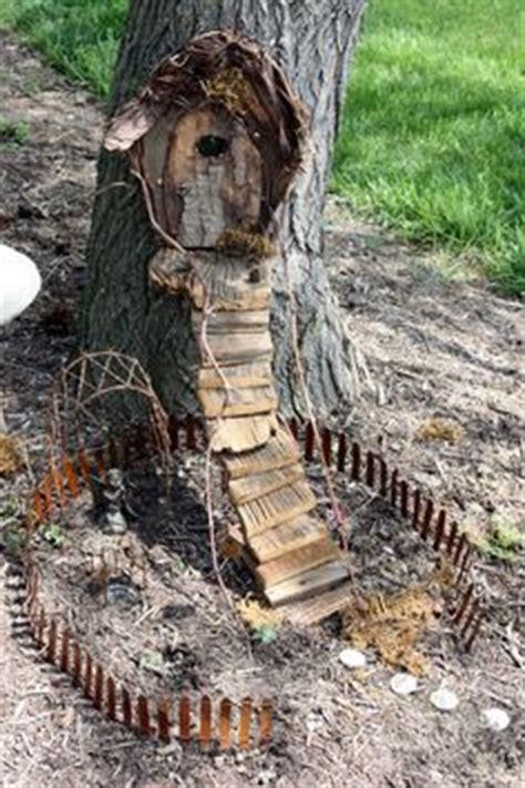 Whimsical Garden Tree Stump Stool by Whimsical Garden Tree Stump Stool Miniature