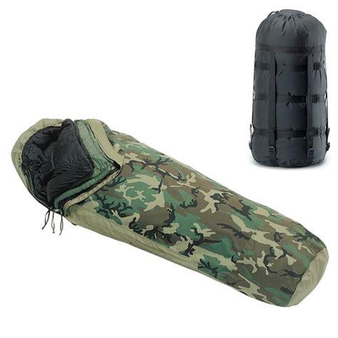 Sleeping Bag Us Army 4pc us modular sleep system mss w goretex bivy