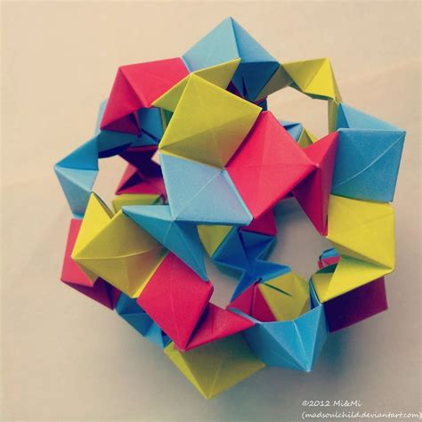 Modular Origami - modular origami cookie cutter 1 by madsoulchild on