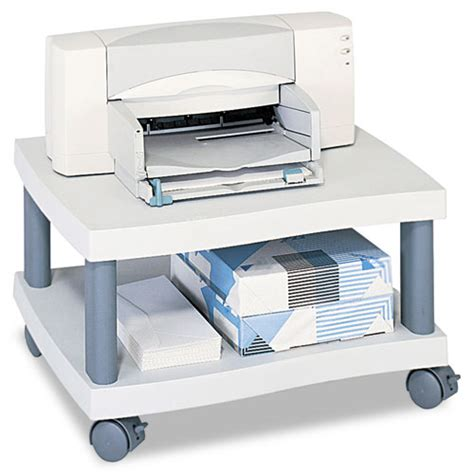 printer stand ideas wave design printer stand two shelf 20w x 17 1 2d x 11 1