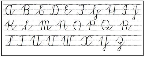 cursive handwriting practical pages