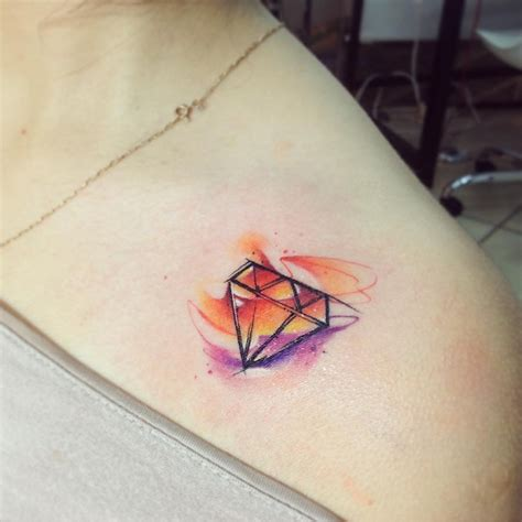 watercolor tattoo diamond 30 gorgeous watercolor tattoos by adrian bascur tattoomagz