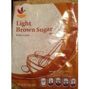 light brown sugar calories nutrition analysis