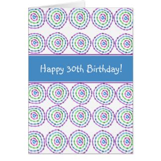 Happy 30th Birthday Card Daughters 30th Birthday Cards Zazzle