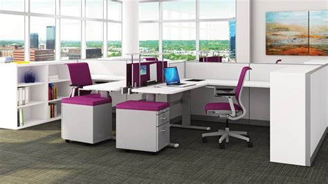 Steelcase Office Desks Kick Multi Functional Office Workstations Steelcase