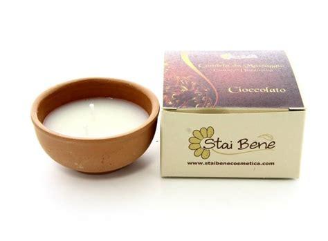 candele per massaggi candela da massaggio al cioccolato