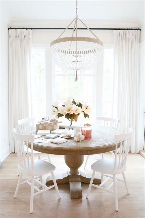 round white dining room table best 25 white dining room table ideas on pinterest
