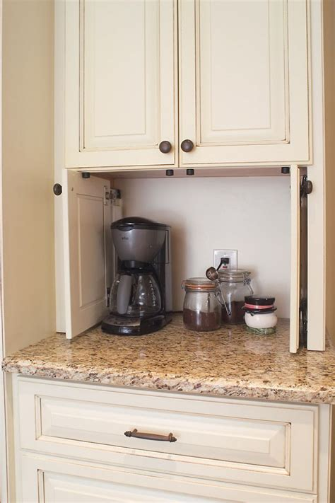 kitchen cabinets appliance garage 25 best ideas about appliance cabinet on pinterest