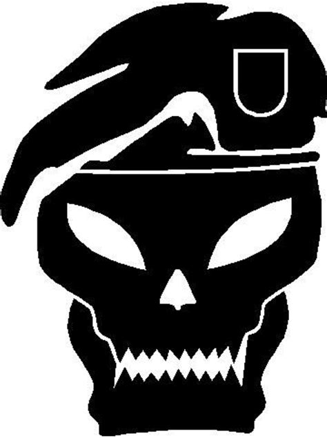 Pumpkin Carving Ideas by Call Of Duty Skull Silhouette Stencil Rjbday Pinterest
