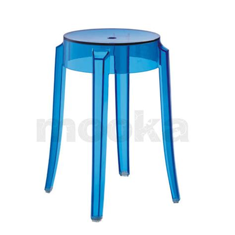 Ghost Stool by Kartell Charles Ghost Stool Small Mooka Modern Furniture