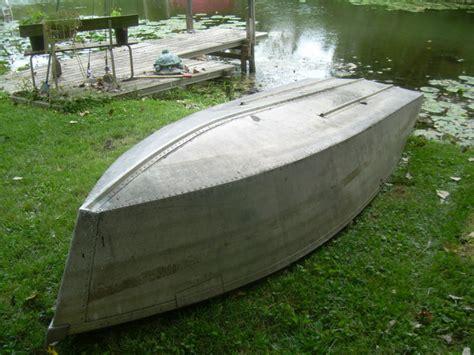 aluminum boat jb weld 12ft 1949 aerocraft a aerocraft boats