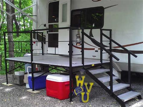 Portable Rv Porch Steps portable rv steps decks and porches cer cing ideas maybe someday decks