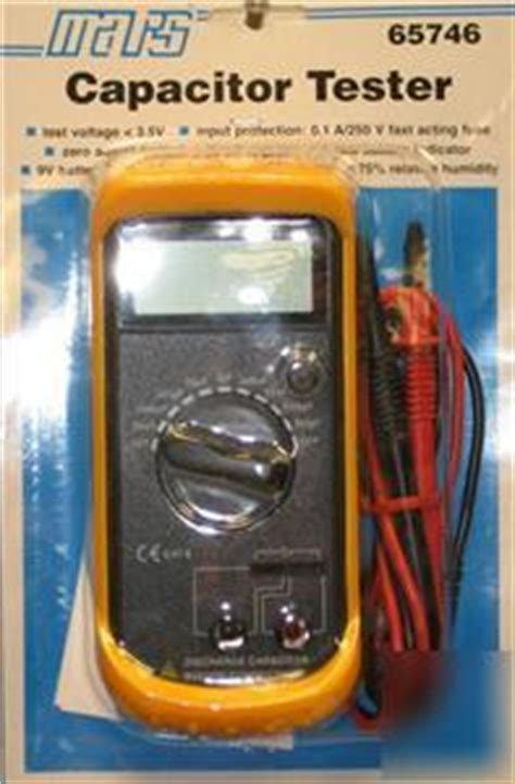 best hvac capacitor tester cr4 thread how to test a capacitor without a multimeter
