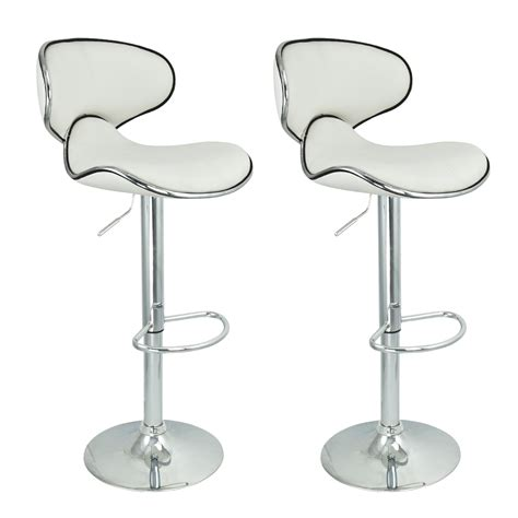 modern swivel chairs for kitchen 2 modern barstool swivel leather adjustable hydraulic