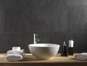 lambri pvc salle de bain le lambris pvc aspect ciment gris anthracite convient