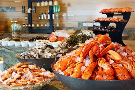 new year buffet lunch singapore seafood indulgence at seasonal tastes the westin