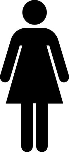 female bathroom symbol male and female bathroom signs clipart best