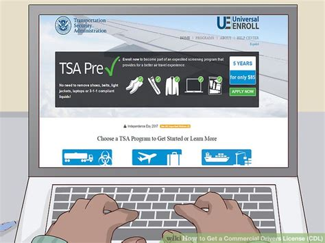 Tsa Background Check For Hazmat How To Get A Commercial Drivers License Cdl 13 Steps