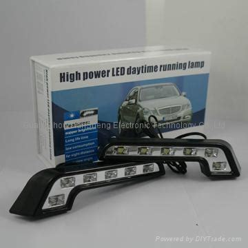 Led Drl 6ttk Water Proof water resistant auto led drl daytime running light with high power lifespan tl 003l ts
