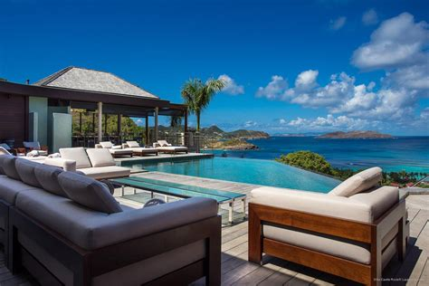 ultraluxe villas in st barts eden rock villa rental