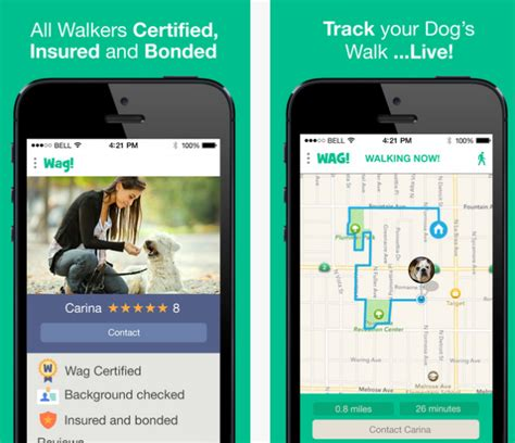 wag walking app on demand walking service now available thanks to handy new app barkpost