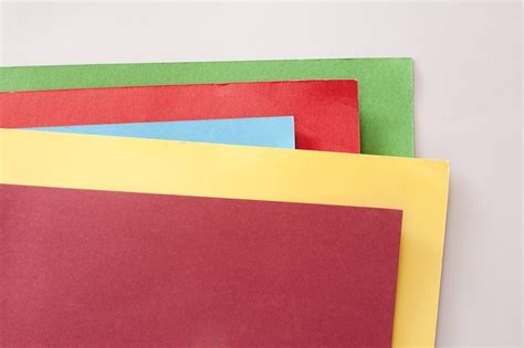 Craft With Coloured Paper - coloured paper crafts