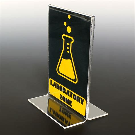 table top signs bottom load table top sign holders lab acrylics