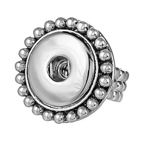 snaps stretch snap fashion ring interchangeable