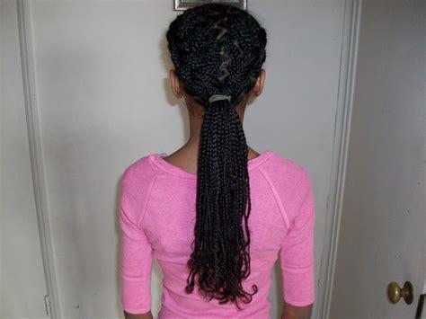 school hairstyles with box braids tweeny hair before school box braid styles
