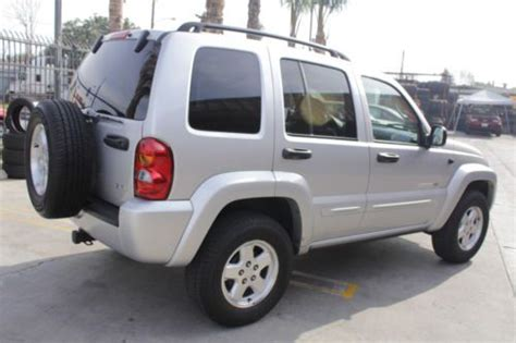 Used Jeep Liberty For Sale By Owner Purchase Used 2002 Jeep Liberty Limited 3 7 Liter For Sale