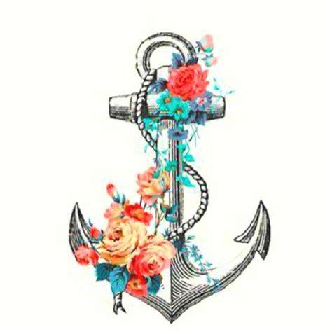 tattoo inspiration anchor floral anchor tattoo tattoos pinterest births