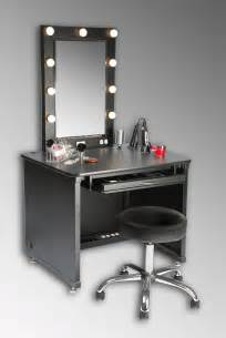 Vanity Table And Chair With Lights The World S Catalog Of Ideas