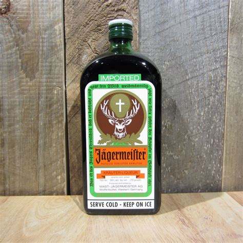 jagermeister 750ml oak and barrel