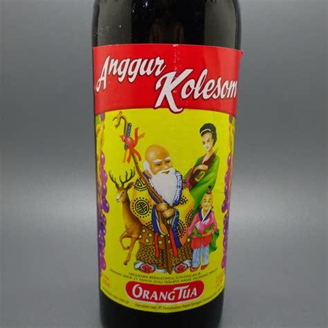 Anggur Cap Orang Tua khasiat herbal anggur kolesom cap orang tua dunia pusaka