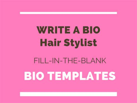 modern bio template composition exle resume