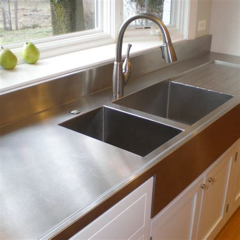 countertop styles pros and cons stainless steel countertops for your kitchen