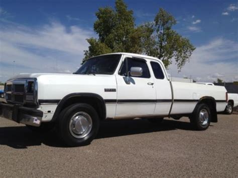find used 1992 dodge d250 cummins club cab 3 4 ton 12