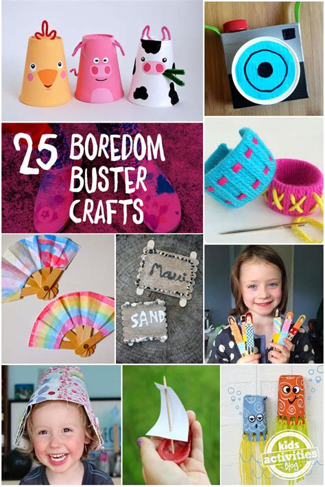 crafts to do when bored quot i m bored quot 25 summer boredom buster crafts