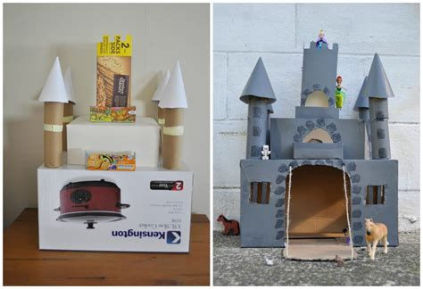 How To Make A Paper Castle By Steps - box castle be a