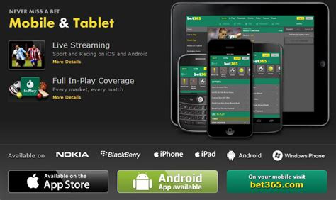 bet365 mobile the bet365 mobile app what you need to pitch