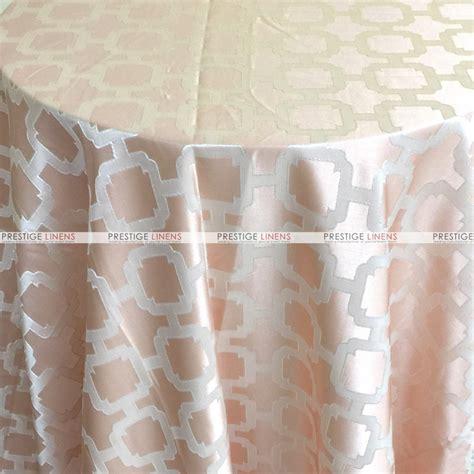 Blush Table Linens by Nancy Graphic Table Linen Blush Prestige Linens